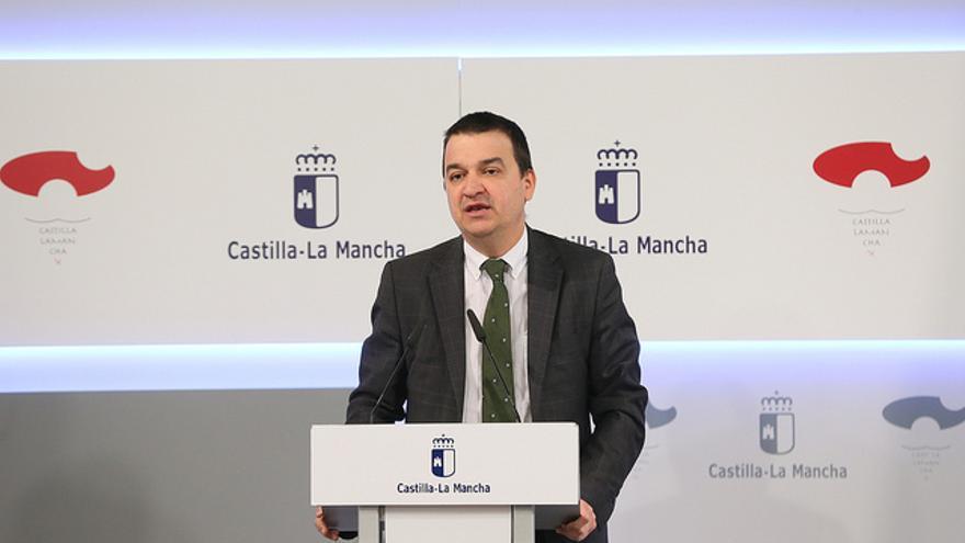 El consejero de Agricultura, Francisco Martínez Arroyo