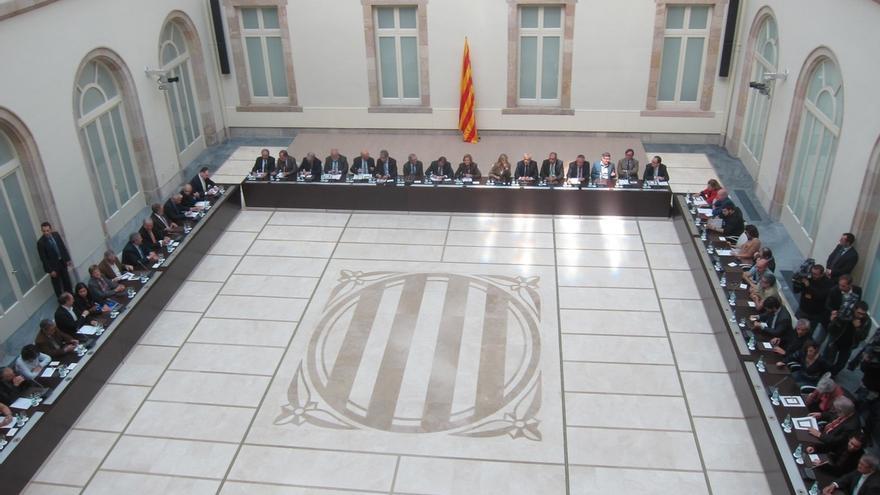 Empieza la reunión del Pacte pel Dret a Decidir para ultimar la logística del 9N