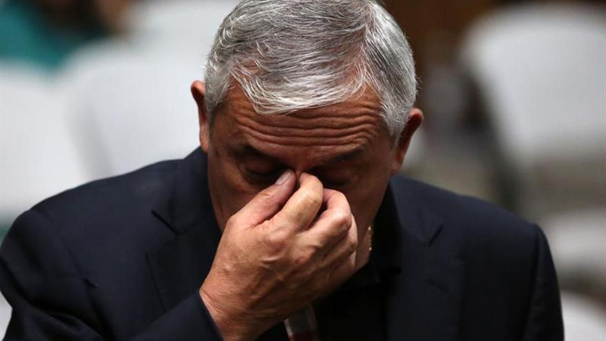Hace un año cayó en Guatemala el presidente Pérez Molina, acusado de corrupto