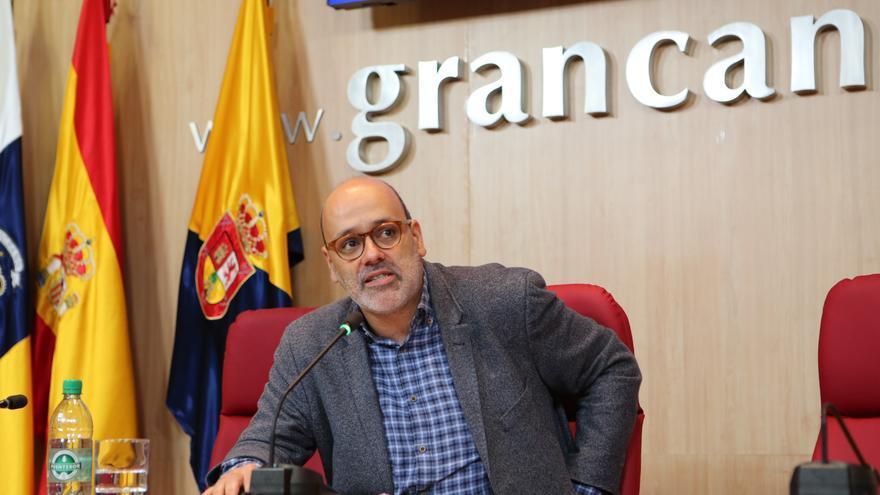 El vicepresidente segundo del Cabildo de Gran Canaria y consejero de Medio Ambiente, Seguridad y Participación Ciudadana, Juan Manuel Brito, renuncia a su acta.