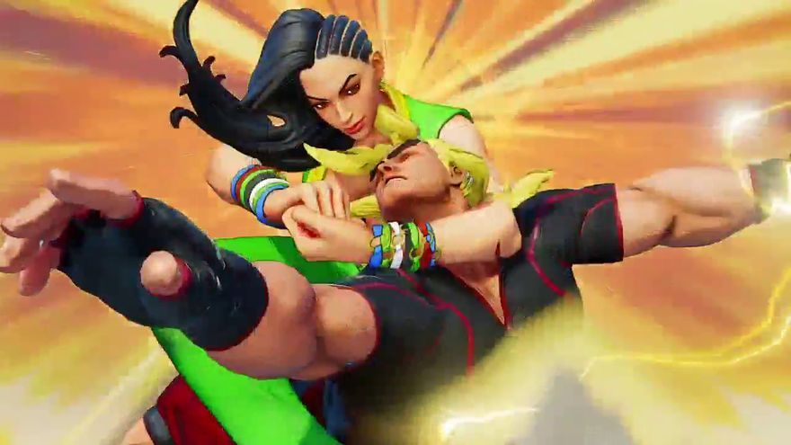 Street Fighter Laura