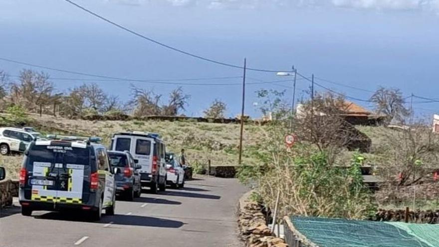 La Guardia Civil halla restos de sangre y ropa en el vehículo del presunto autor del atropello de una mujer en El Paso