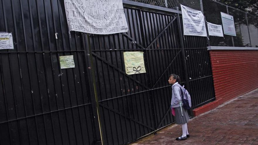 Niños mexicanos, ante el reto de superar el trauma por el terremoto