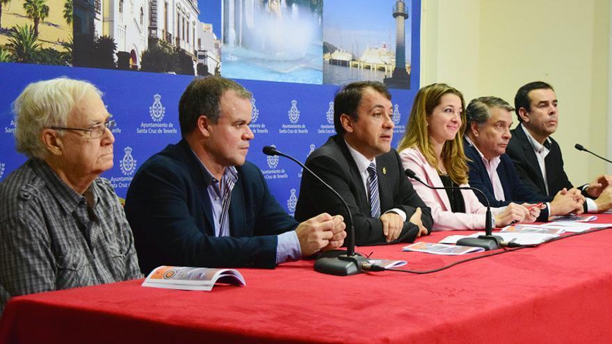 El Ayuntamiento presentó este miércoles el Torneo de Navidad Santa Cruz de Tenerife