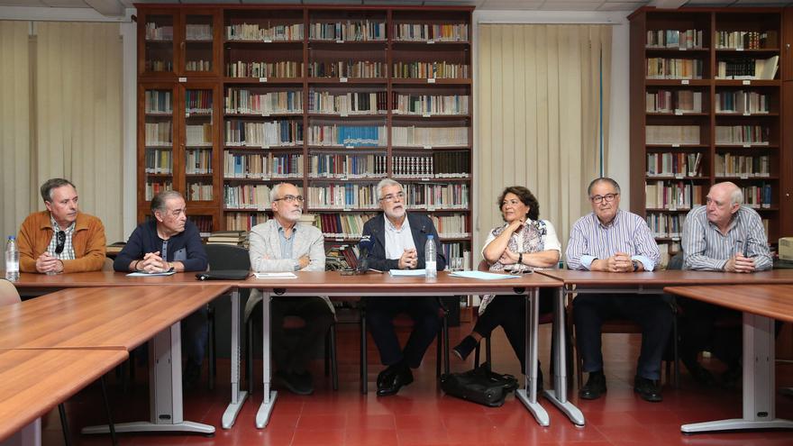Miembros de la Plataforma Reivindicativa Sociosanitaria de Canarias.