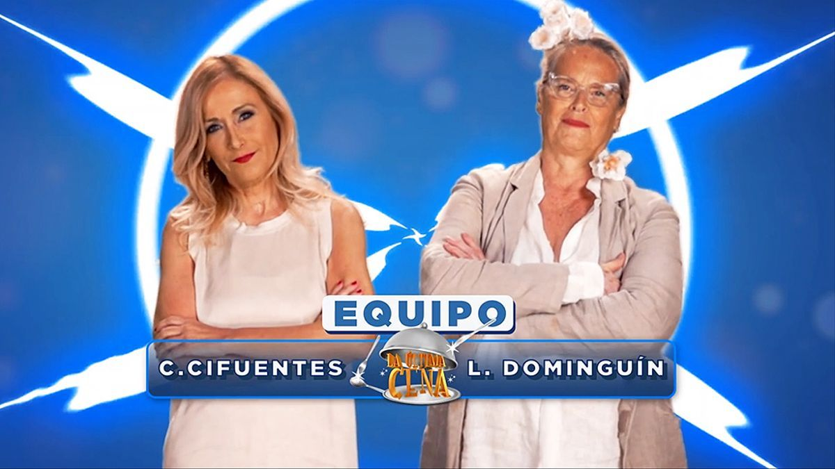 Cristina Cifuentes y Lucía Dominguín, la pareja que cocinará el jueves en 'La última cena'