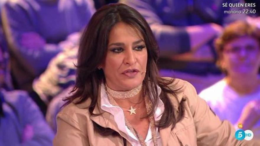 Aída Nízar en el plató de 'GH VIP: El Debate'