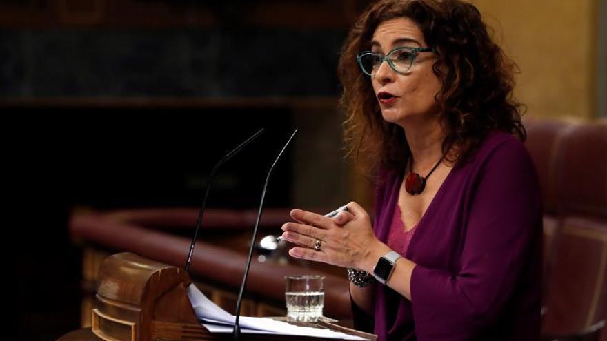 """Montero apela a que se diga """"no"""" a los que prefieren España en blanco y negro"""