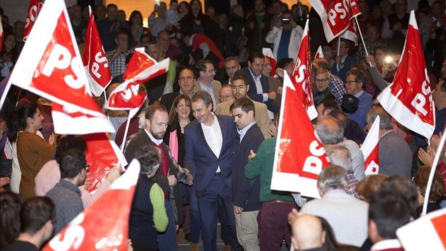 Zapatero ve al PSOE como el único que garantiza la cohesión social y la convivencia