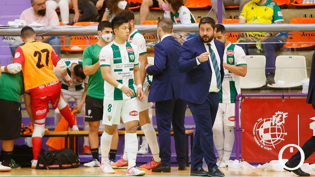 Josan González, en el último partido de liga en Jaén