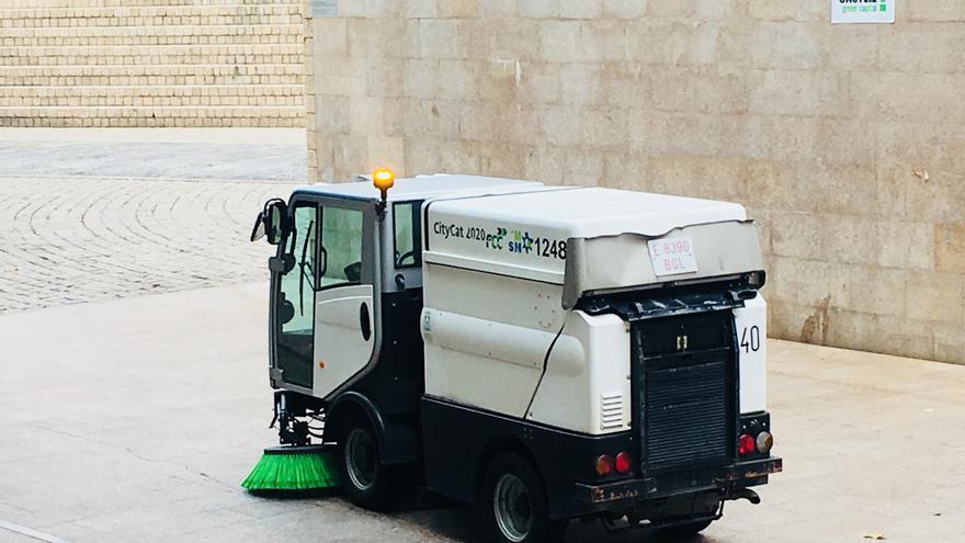 Una máquina de FCC-GMSM, este jueves en Vitoria