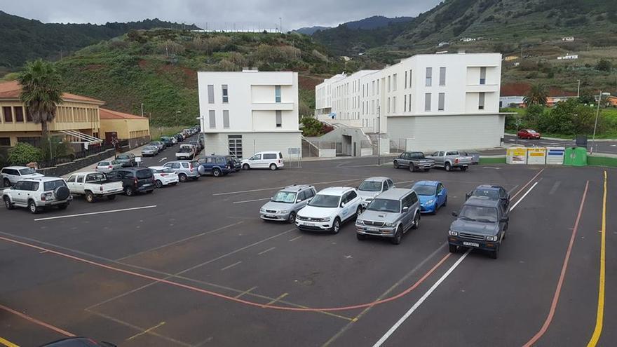 En la imagen, solar adquirido por el Ayuntamiento de Puntallana.