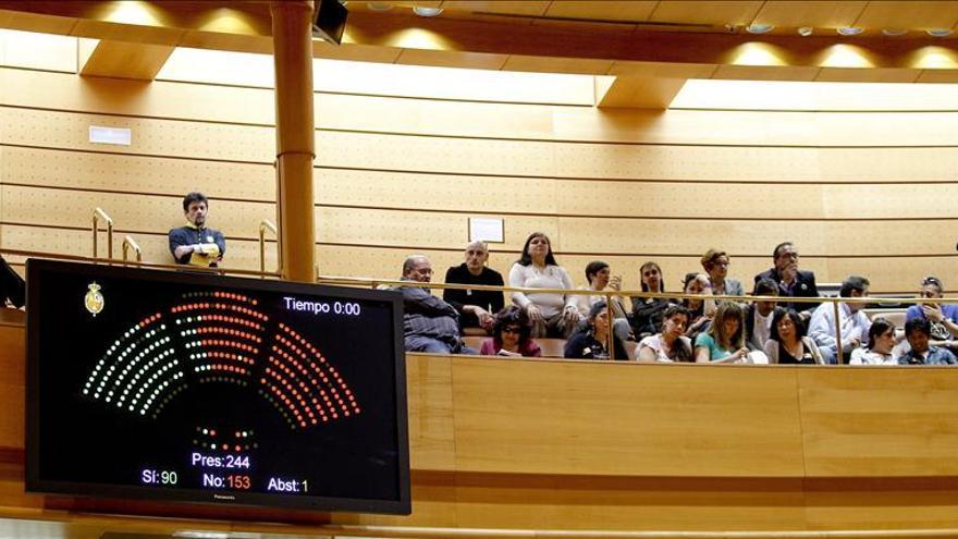El Senado aprueba la ley sobre desahucios con el rechazo de toda la oposición