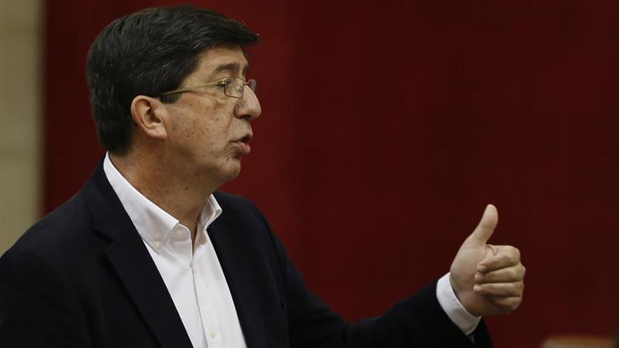 Ciudadanos: si Díaz deja la Junta habrá que renegociar el acuerdo con el PSOE