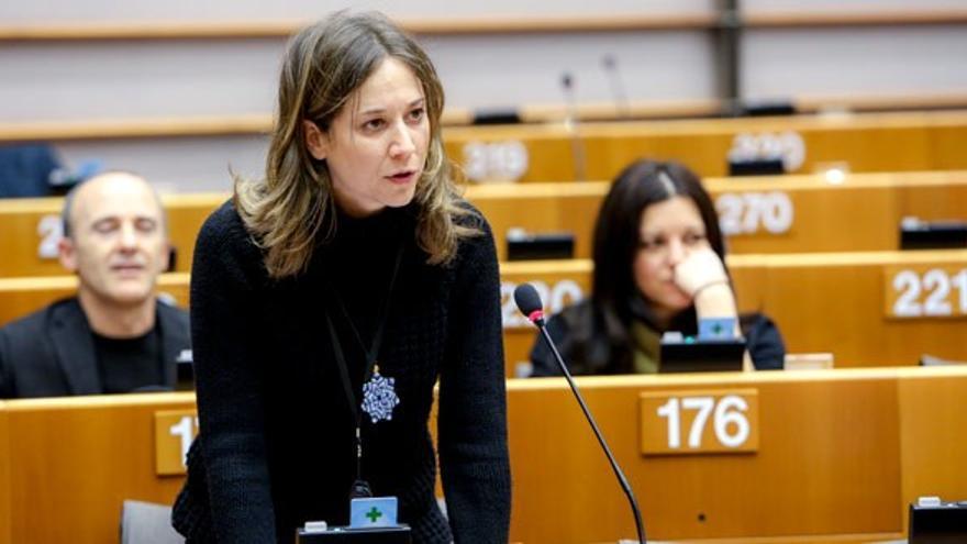 La eurodiputada de Esquerra Unida, Marina Albiol