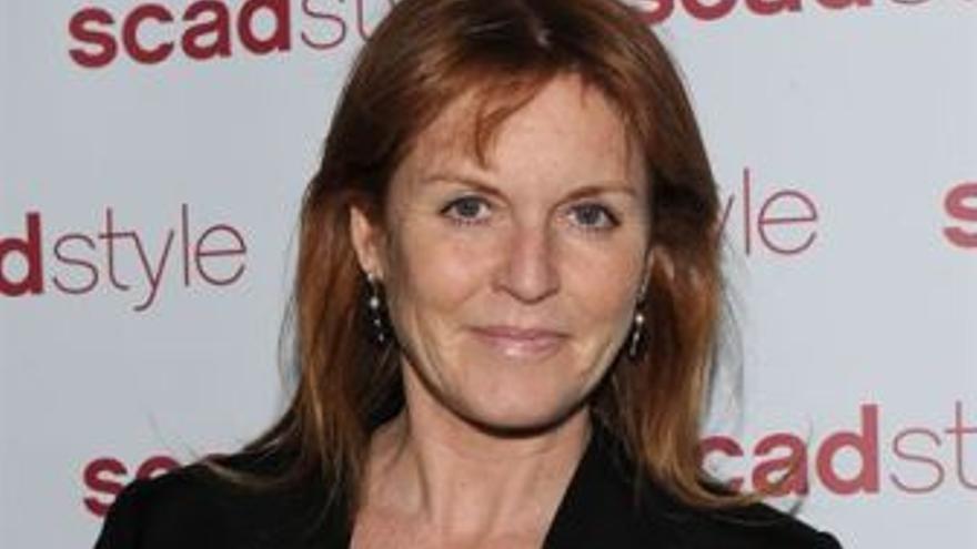 Sarah Ferguson. (EUROPA PRESS)