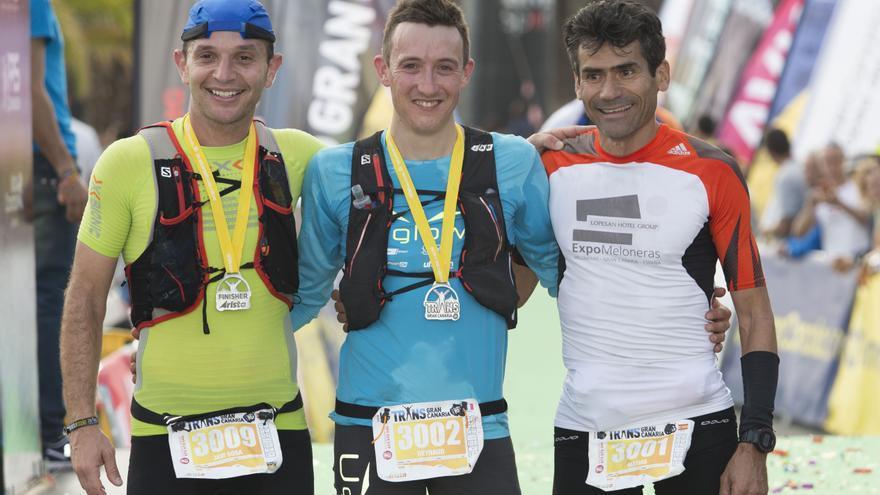 El podido de la Transgrancanaria Started 30 km en categoría masculina.