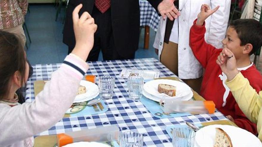 Educación cofinanciará los comedores escolares de Lugo con 90.000 euros