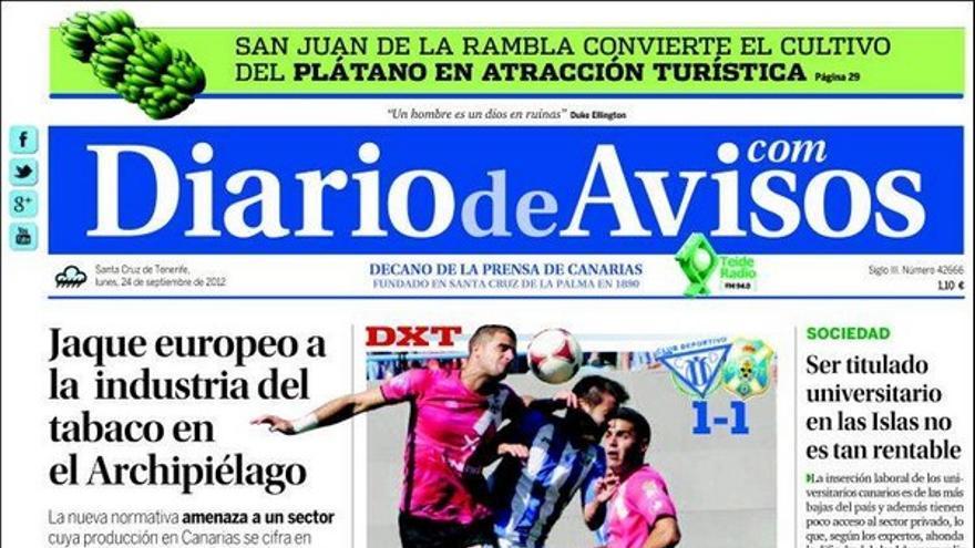 De las portadas del día (24/09/2012) #3