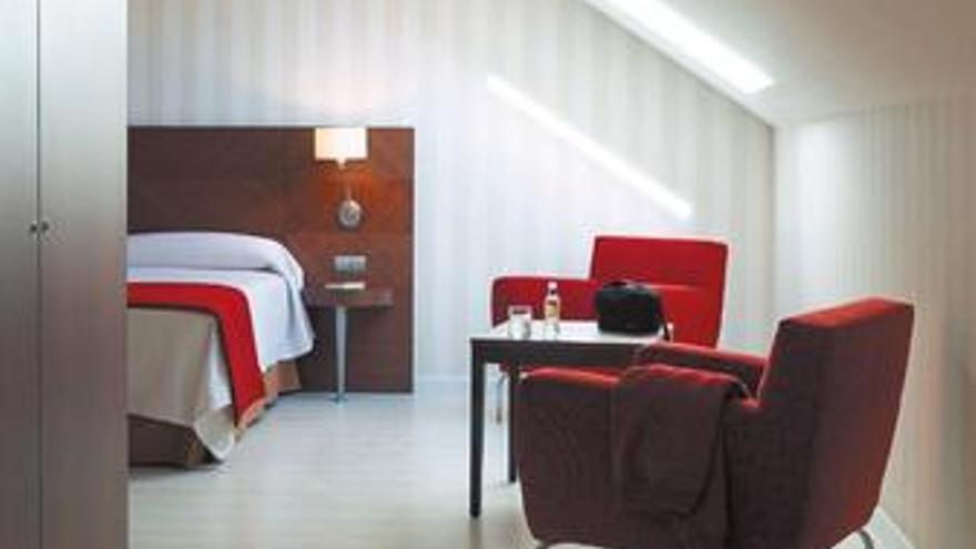 Habitación hotel Hesperia Hermosilla