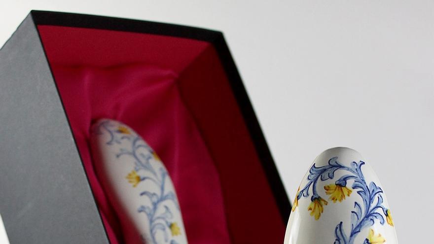 Pieza 'Lancero' realizada con cerámica talaverana / Non Sit Peccatum