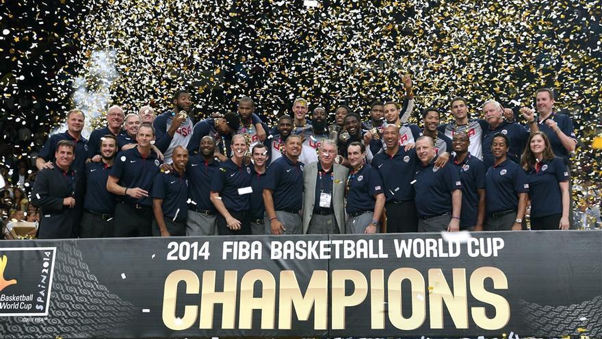 Estados Unidos se hace con la Copa del Mundo de Baloncesto 2014 tras vencer a Serbia. Foto: Fiba.