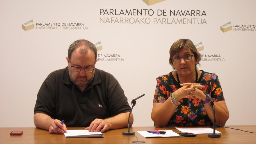 Nuin cree que el programa del Gobierno requiere más días de trabajo y no ve la investidura de Barkos antes de San Fermín