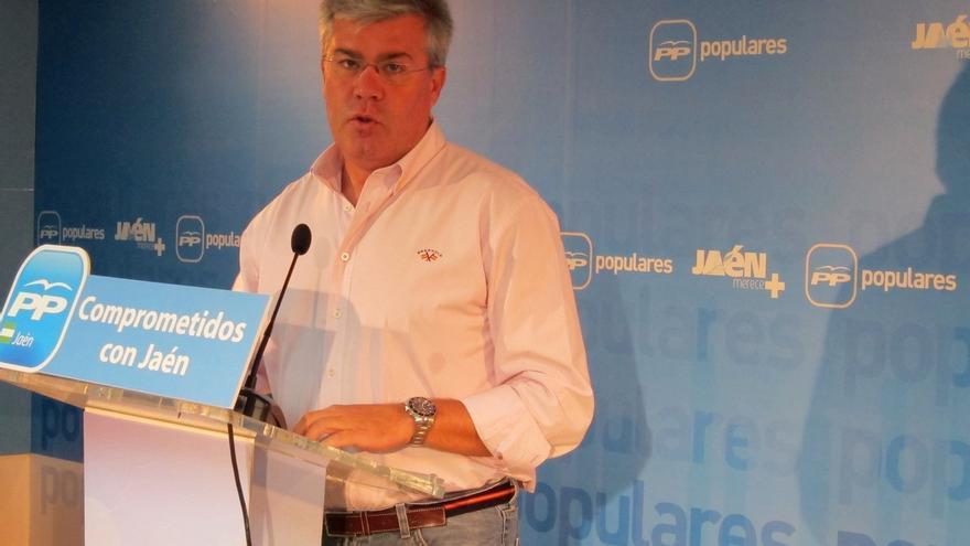 """Fernández de Moya rechaza """"localismos"""" y pide a la Junta liderar un """"eje andaluz"""" para el desarrollo de la región"""