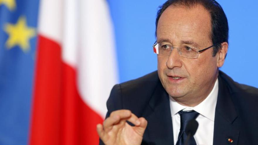 La vida privada de Hollande se colará en una rueda de prensa sobre economía