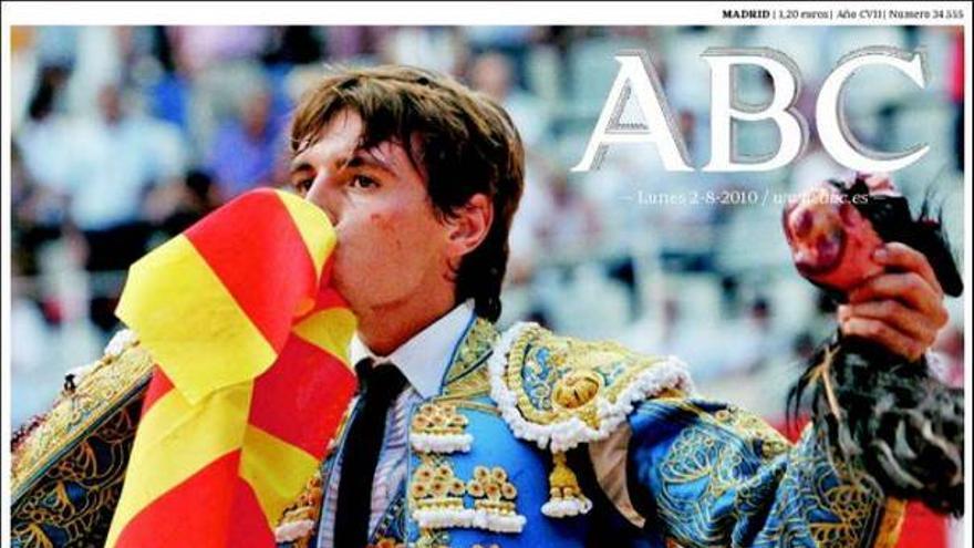De las portadas del día (02/08/2010) #1