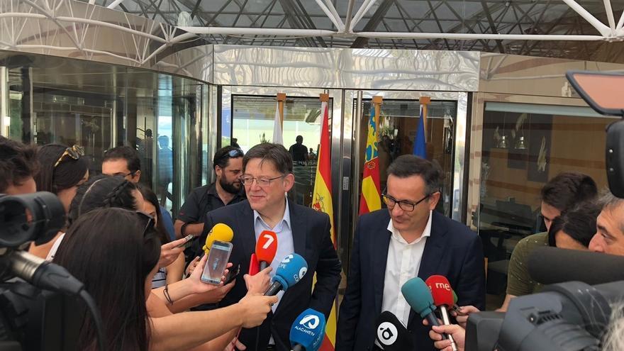 """Los socialistas de Comunidad Valenciana y Murcia avisan que el trasvase Tajo-Segura es """"irrenunciable"""""""