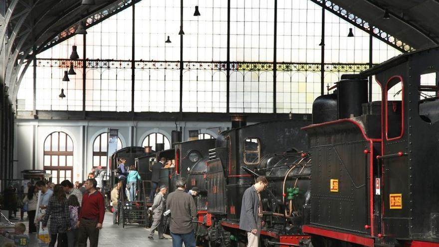 Una imagen del museo del Ferrocarril / Fundación de los Ferrocarriles