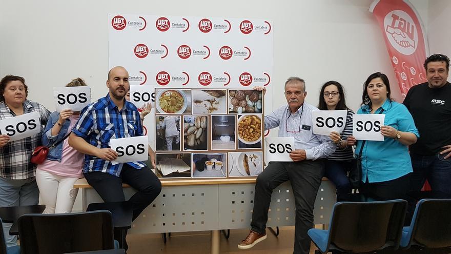 """UGT pide destituir a director de Gestión de Sierrallana por """"los desmanes"""" de la concesionaria de la cocina del hospital"""