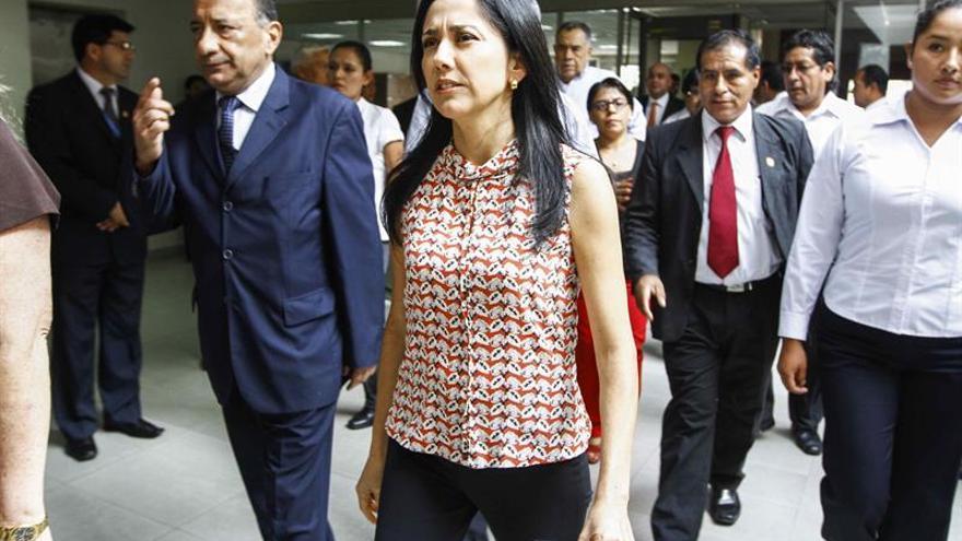 Nadine Heredia viaja de regreso a Perú, tras una orden del juez que la investiga