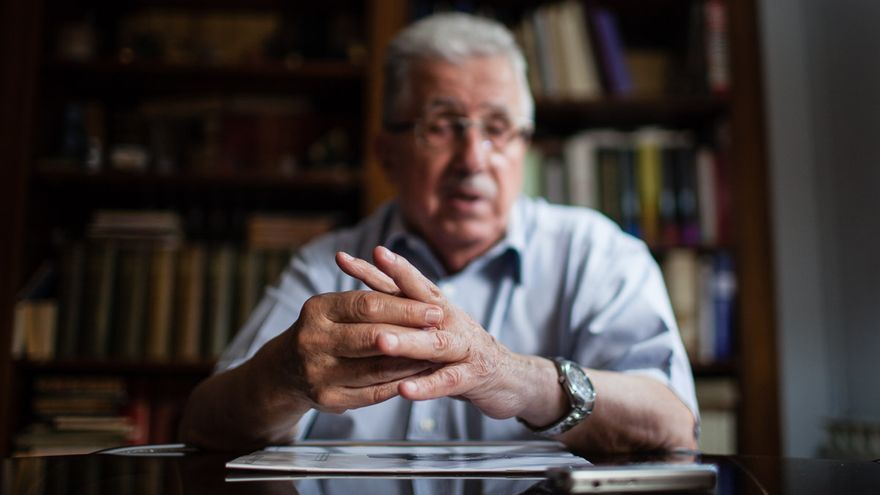 El historiador Josep Fontana. / Enric Català