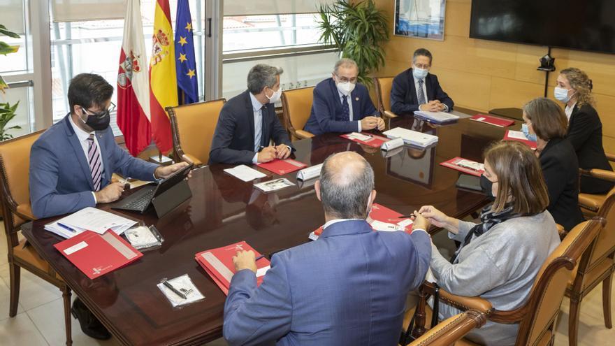 Reunión Gobierno de Cantabria-UC sobre Contrato Programa Extraordinario