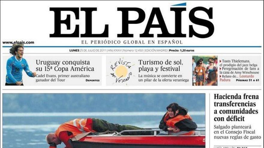 De las portadas del día (25/07/2011) #6