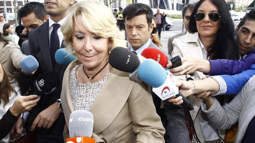 """Aguirre cree que lo que se le imputa a Acebes es """"un poco rarito"""" y le define como """"uno de los políticos más honrados"""""""