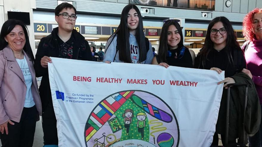 Participantes en el programa Erasmus +