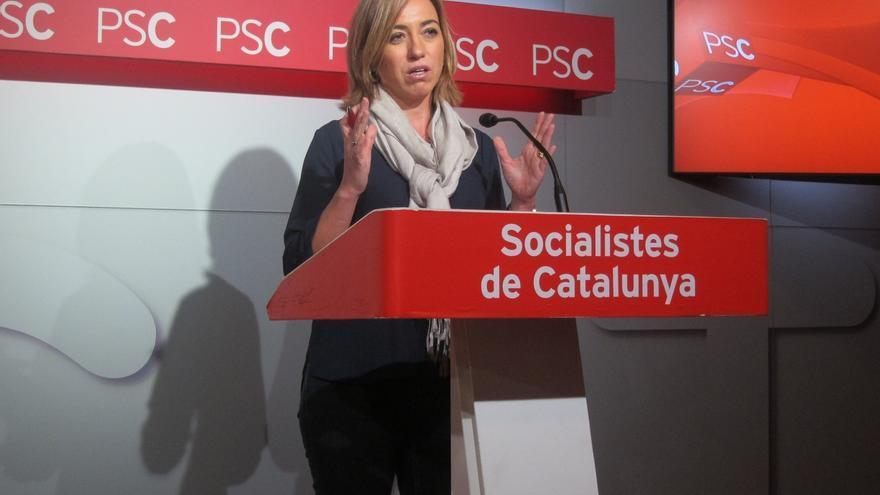 La Generalitat concede a Carme Chacón la Creu de Sant Jordi a título póstumo