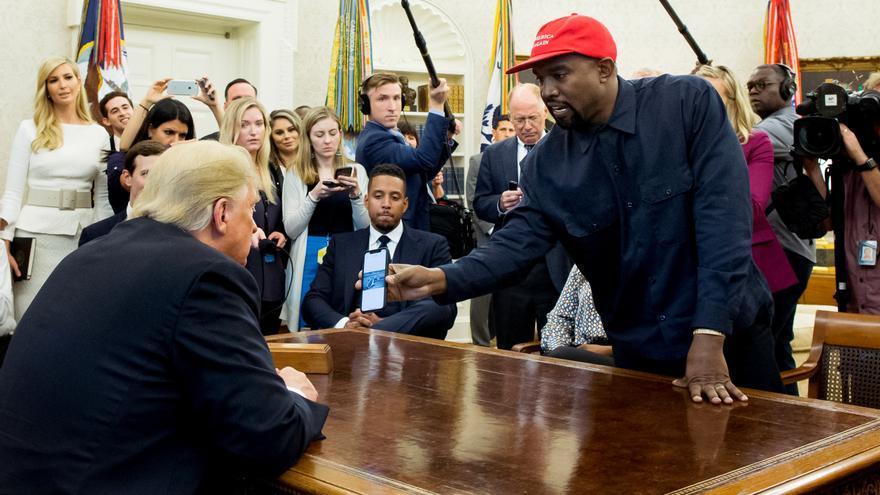 El rapero Kanye West anuncia su candidatura a la presidencia de EE.UU.