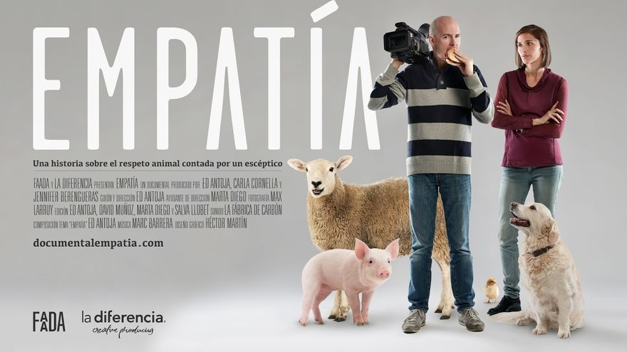 Cartel del documental EMPATÍA, de Ed Antoja.