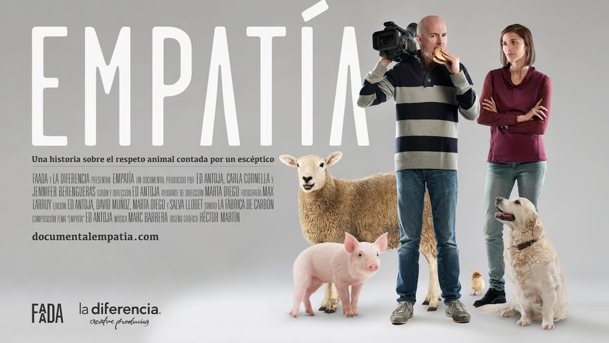 Cartel del documental EMPATÍA, de Ed Antoja.