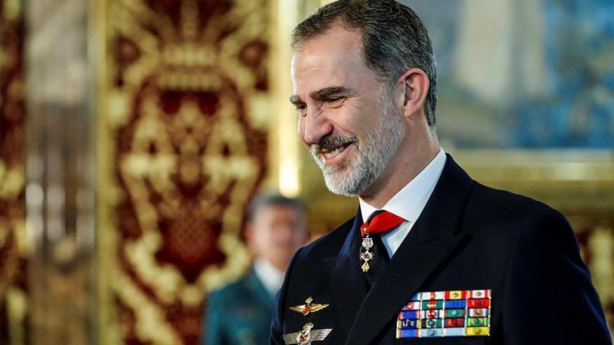 Felipe VI se reunirá con Vázquez, Lacalle, Piñera y Duque en su visita a Uruguay