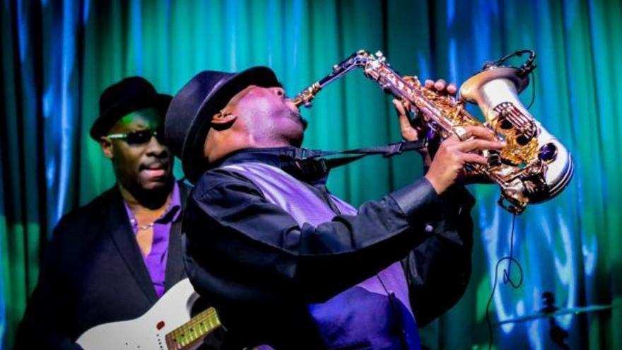 Imagen de archivo de músicos de jazz