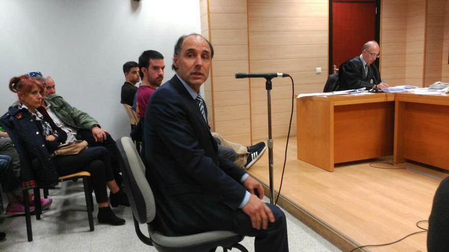 Ignacio Diego durante su declaración en el juicio | RUBÉN ALONSO