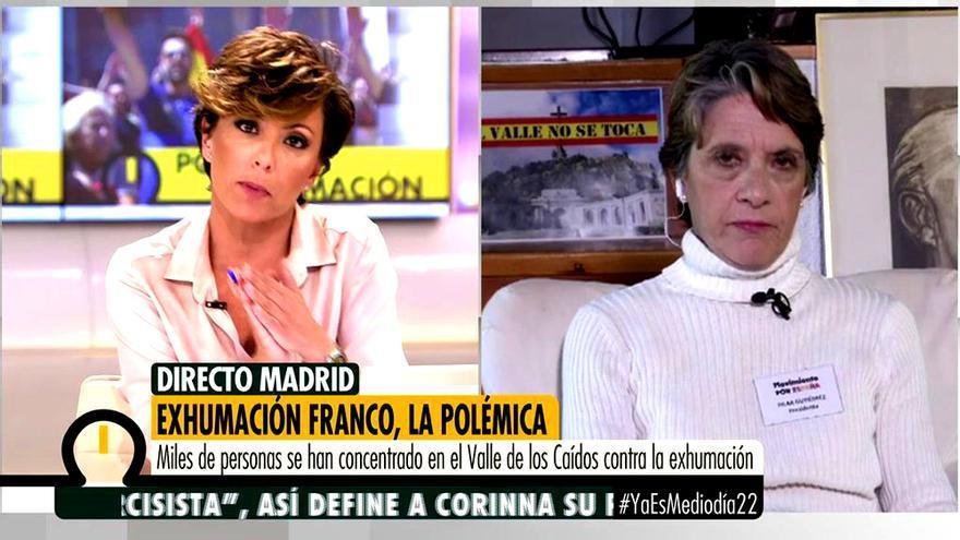 Sonsoles Ónega y Pilar Gutiérrez, en Ya es mediodía