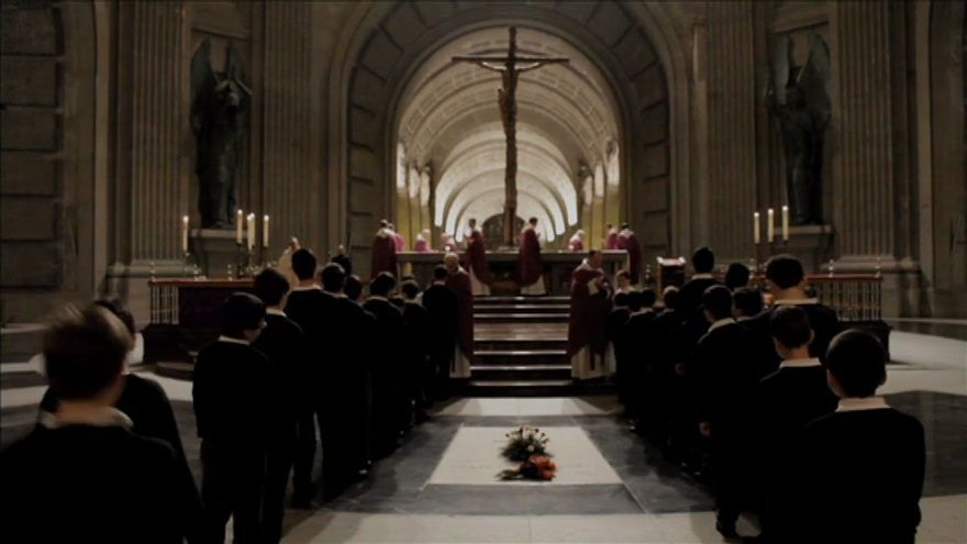 Captura del documental 'A la sombra de la cruz', de Alessandro Pugno.