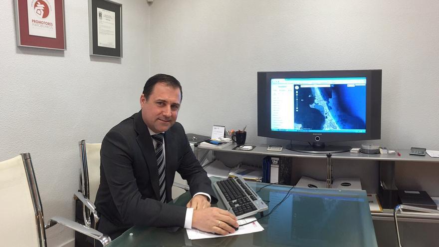 José Hernandez, presidente de APRIM -Asociación de Promotores Inmobiliarios de la Región de Murcia- / MJA