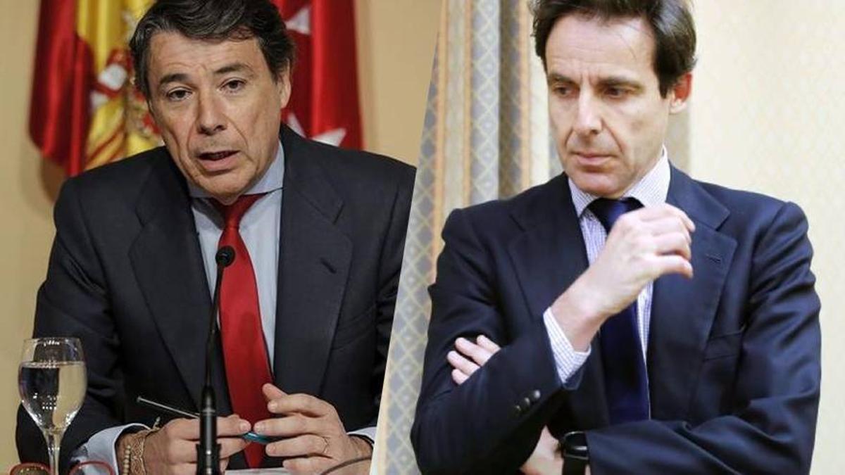 Ignacio González y Javier López Madrid.